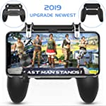 ZORBES Mobile Controller - Cellphone Game Trigger/Mobile Game Controller for PUBG Compatible with Android iOS, L1R1...
