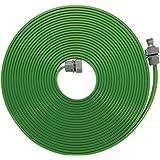 GARDENA sprinklerslang: Sprinkler för bevattning av långsmala områden, längd 7,5 m, redo att anslutas, grön, kan förkortas oc