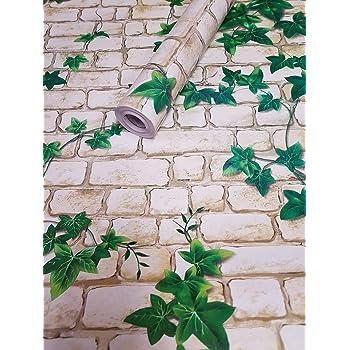 Visario Folie selbstklebend 10m x 45cm Verschiedene Motive Steinoptik Steine Ranke Dekorfolie Möbelfolie 3013