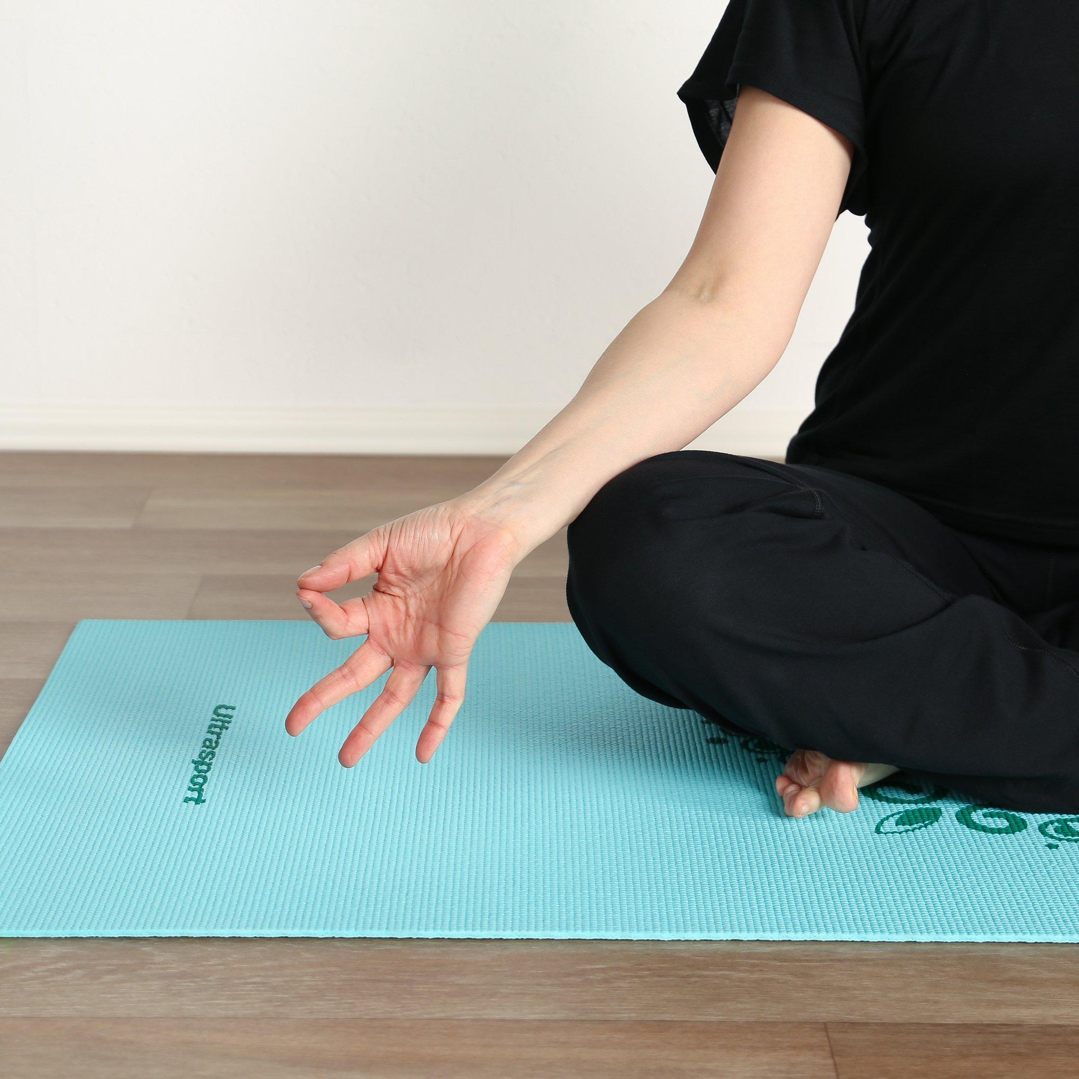 Ultrasport Gymnastikmatte,Yogamatte,Fitnessmatte,Sportmatte,weiche ...