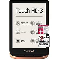 """PocketBook - Lettore eBook """"Touch HD 3"""" (16 GB di memoria; schermo con tecnologia E-Ink da 15,24 cm (6 pollici), Smart…"""
