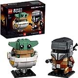 LEGO 75317 BrickHeadz Star Wars The Mandalorian & The Child 'Baby Yoda' Collectable Model Building Set