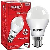Eveready Base B22 9 Watt LED Bulb  Cool Day White Light