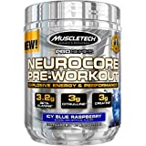 Muscletech Proseries Neurocore Pre-Workout (50 Servings, 3.2 Beta Alanine, 3g Citrulline, 3g Creatine) - 215g (Icy Blue Raspberry)