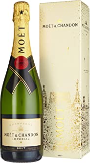 Mo?t & Chandon Brut Impérial Champagner mit Geschenkverpackung (1 x 0.75 l)