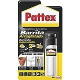 Pattex Barrita Arreglatodo Masilla bicomponente extrafuerte, pasta moldeable para pegar y reparar, resina epoxi barnizable y