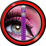 Zipper Lock Screen - Make-up