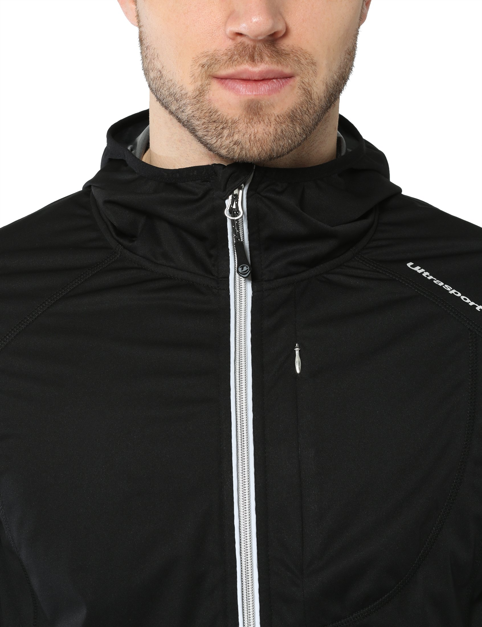 wind and waterproof which makes it perfect as a running jacket lightweight and breathable Ultrasport Mens Multifunctional Jacket Endy with Ultraflow 3,000 training jacket or cycling jacket