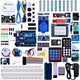 ELEGOO UNO R3 Project The Most Complete Ultimate Starter Kit Compatible with Arduino IDE w/TUTORIAL, UNO R3 Controller Board,