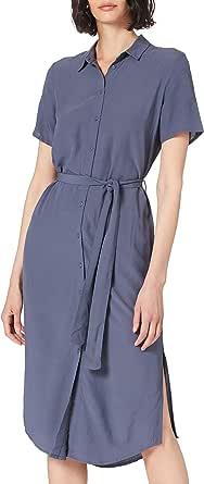 PIECES Pccecilie SS Long Dress Noos Vestito Donna
