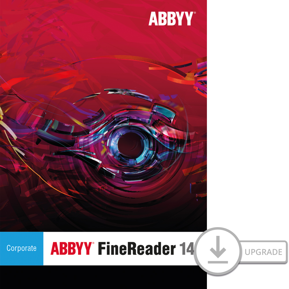 ABBYY FineReader 14 Corporate Upgrade for PC [Download]