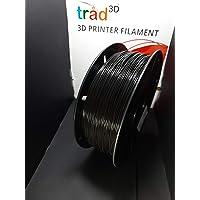 Trad3D 1.75mm PLA 3D Printer Filament (Black) for UP PLUS 2