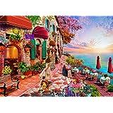 HUADADA Puzzle 1000 Pièces Puzzle Adulte Morning Blossom Puzzle Paysage Puzzle Enfant (70x50cm)