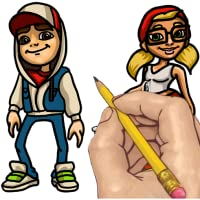 How to Draw: Subway Surfers Characters