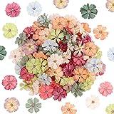 Têtes de Fleurs artificielles 100Pcs décoratives Fleurs de Marguerite Artificielle têtes Mini Fleurs en Soie Fausses têtes de