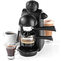 Salter EK3131 Espressimo Barista Style Coffee Machine with Tempered Glass Cup |5 Bar Pump Pressure | Ideal for Lattes…