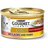 Purina Gourmet guld delikat behållare, 12 x 85 g