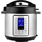 Nutricook Smart Pot Prime by Nutribullet 1200 Watts - 10 in 1 Instant Programmable Electric Pressure Cooker, 8 Liters, 16 Sma