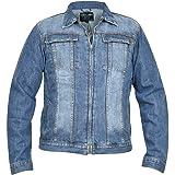 WACKY Mens Denim Regular Fit Chest Pocket Button Casual Jacket