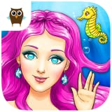 Mermaid Ava and Friends - Ocean Princess Hair Care, Make Up Salon, Dress Up and Underwater Adventures