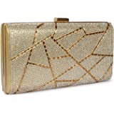 Valerie clutch Purse for Women Golden bridal Party and Wedding Bag