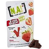 N.A! Nature Addicts - Sachet de Fruit Sticks Fraise 40g - 100% Issu de Fruits - Sans Sucres Ajoutés, Sans Édulcorants ni Cons