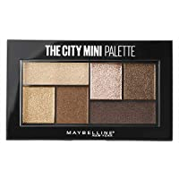 Maybelline New York The City Mini Palette, Pigmenti Puri per un Colore Intenso in una Sola Passata, 400 Rooftop Bronzes