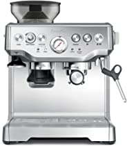 Breville Barista Express Espresso Machine, Brushed Stainless Steel - BES870, Silver