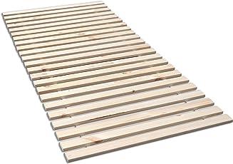 Madera Fichten Rollrost, Massives Fichtenholz mit 23 Leisten und Befestigungsschrauben