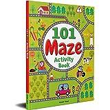 101 Maze Activity Book: Fun Activity Book For Children