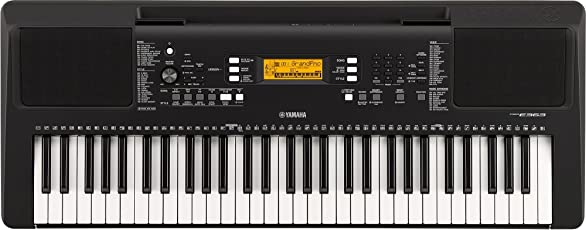 (CERTIFIED REFURBISHED) Yamaha PSRE363 61-Key Touch Sensitive Portable Keyboard
