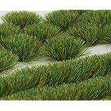 WWS Sommar 6 mm självhäftande statisk gräs toftar och remsor set ..