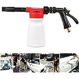 ALLOMN Snow-Foam-Lance Auto-reinigingspistool, 2-in-1, 900 ml, autoreiniging, wassen, wasspray, sneeuwschuim, lans, waterpist