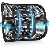 RenFox Supporto Lombare, Cuscino Lombare Supporto Schienale Ergonomico Cuscino per Sedia Ufficio Auto Divano Sedie, Riduce Il