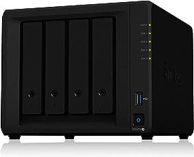 Synology DS918+ NAS Disk Station, Diskless, 4-bay; 4GB DDR3L
