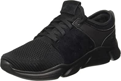 Skechers Drafter Wellmont Mens Gray Textile Low Top Lace Up Sneakers Shoes