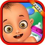 Cuidado del bebé recién nacido: ¡Un maravilloso juego de cuidado del bebé - juegue a ser mami o niñera! GRATIS
