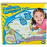 AquaDoodle- Tomy 1ères Découvertes E73076, Dessin à Eau, Coloriage Géant, Tapis d'Éveil et Educatif avec Stylo, Adapté aux En