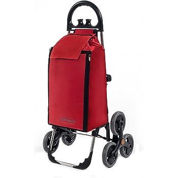 Foppapedretti go up carrello portaspesa pieghevole red for Amazon carrello portavivande pieghevole