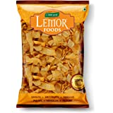 Lemor Roasted Oats Chips (400 g, Pack of 2) | Namkeen Snacks for Foodie Indians | Roasted Healthy Munchies