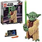 LEGO 75255 Star Wars Yoda, Ensemble de Construction, modèle à Collectionner avec présentoir, Collection L'attaque des Clones