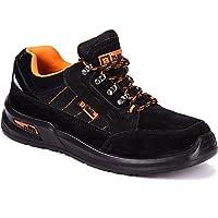 Black Hammer Chaussure de Sécurité S1P SRC Baskets Embout Acier Respirant Chaussures de Chaussures de Travail et…