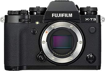 Fujifilm X-T3 Systemkamera (26,1 Megapixel, 7,6 cm (3 Zoll) Display, Touch-Display, APS-C-Sensor) schwarz