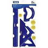 Milan 359801 - Kit de Trazado, Blanco, Pequeño
