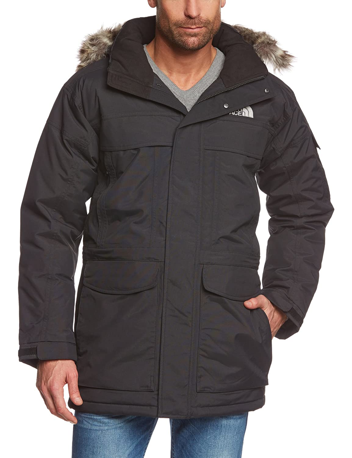 The North Face Waterproof Mcmurdo Men's Outdoor Hooded Jacket ...