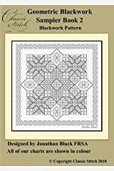Geometric Blackwork Sampler Book 2 Blackwork Pattern Kindle Edition
