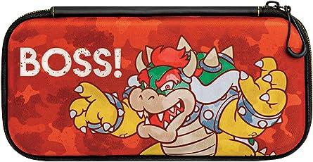 Nintendo Switch Slim Travel Case Bowser Camo Edition