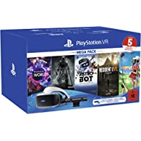PlayStation VR Mega Pack 2, VR-BRILLE INKL CAMERA + VR WORLDS + SKYRIM VR + ASTRO BOT + RESIDENT EVIL 7 + EVERYBODY'S…