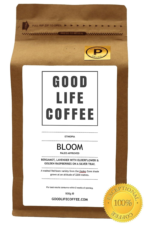 GOOD LIFE - BLOOM Paleo Approved, 100% Organic Coffee, Bulletproof ...