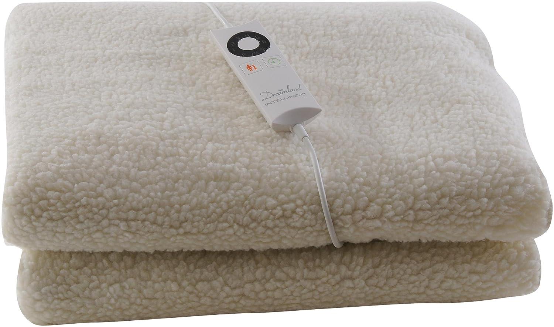 Dreamland Intelliheat Heated Fleecy King Size Dual Mattress Protector:  Amazon.co.uk: Kitchen & Home